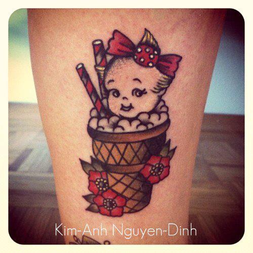 Tatouage par Kim Anh-Nguyen