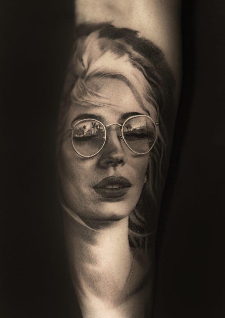 tatouage de visage